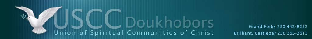 USCC Doukhobors Web Banner